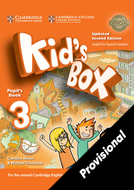 Kid's Box Upd 3 Pupil's Book
