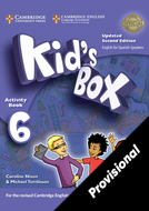 Kid's Box Upd 6 Activity Book