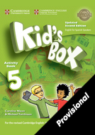 Kid's Box Upd 5 Activity Book