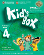 Kid's Box Upd 4 Activity Book