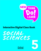 New Think Do Learn Social Sciences 5 Interactive Digital Class Book (Madrid Edition)